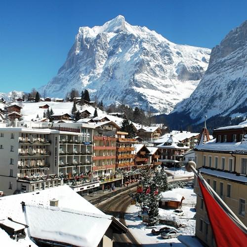 village views from Hotel Derby Grindelwald