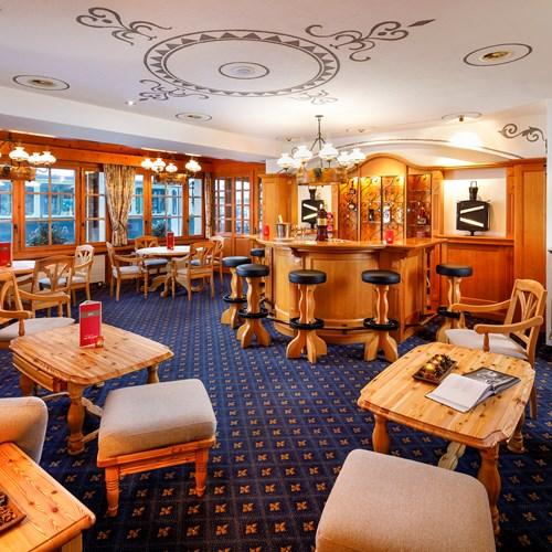 bar area at Hotel Derby Grindelwald
