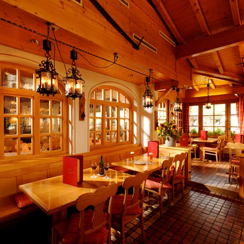 traditional dining stube at Hotel Derby in Grindelwald