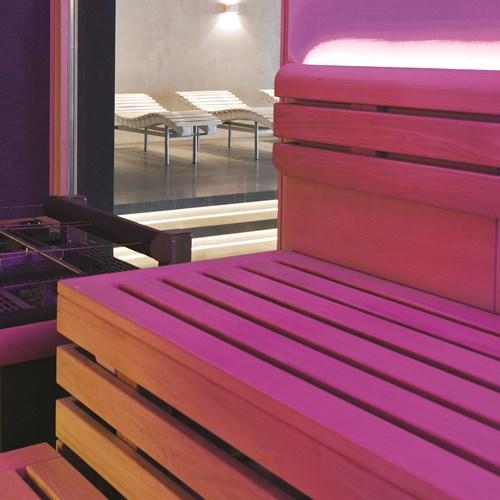 Elisabeth Hotel, luxury ski accommodation in Mayrhofen, Austria. Sauna