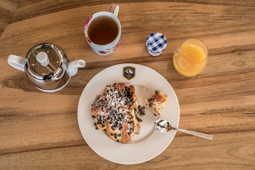 chalet des cascades breakfast