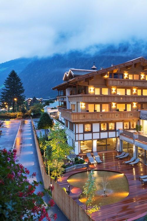 Elisabeth Hotel, luxury ski accommodation in Mayrhofen, Austria. Exterior