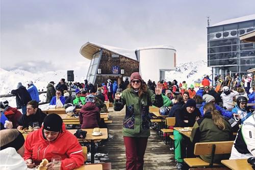 st anton apres ski rendl beach