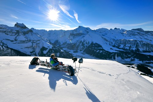 Engelberg-chilling-in-the-sun