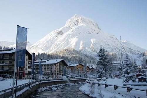 lech town view