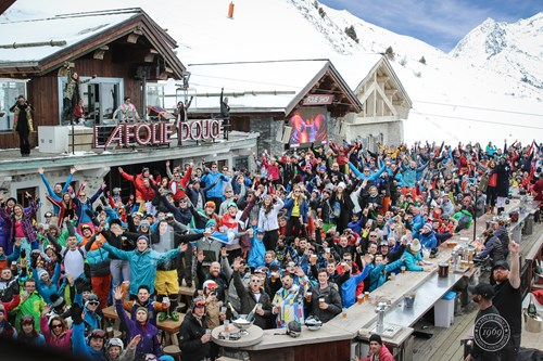 things to do in meribel apres ski folie douce