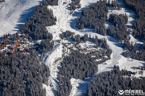 mauduit piste meribel skiing