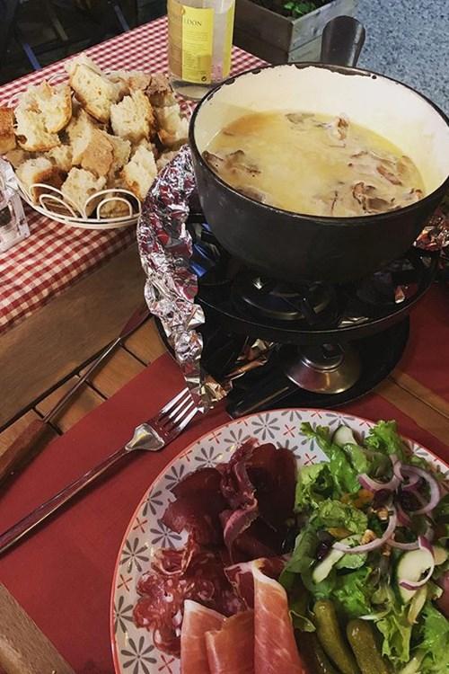 fondue savoyard la fine bouche chamonix