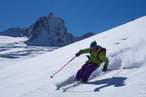 la vallee blanche chamonix skiing off piste