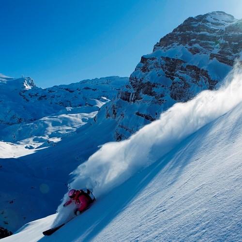 Engelberg-Switzerland-off-piste-skiing