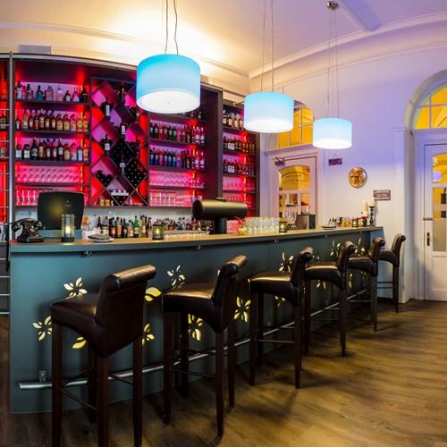 Hotel bar at Hotel Terrace in Engelberg, Switzerland
