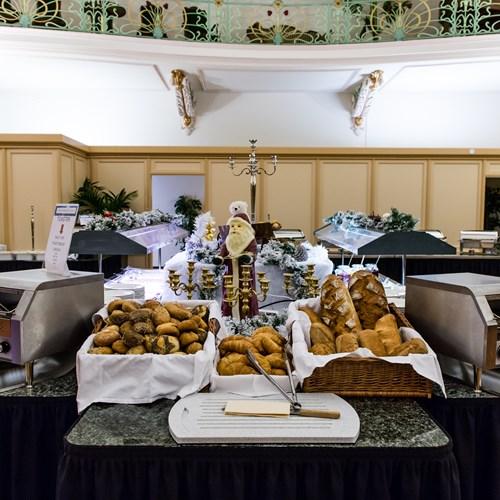 breakfast at Hotel Terrace, ski accommodation in Engelberg