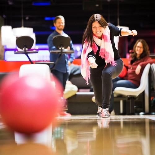 bowling at Radisson Blu Trysil