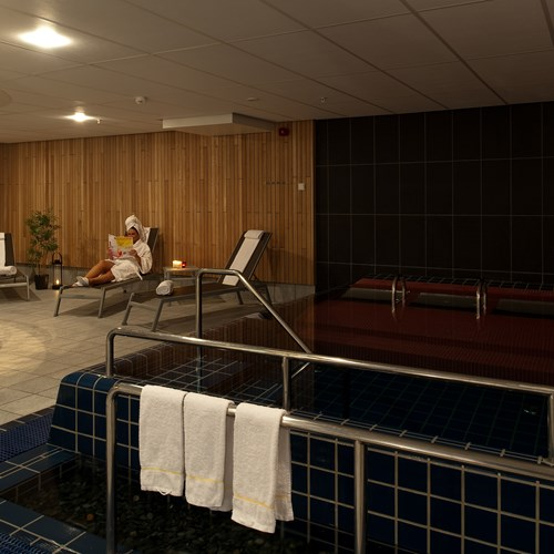 spa area at the Radisson Blu resort Trysil