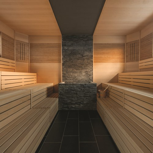 Sauna at Hotel Hochfirst in Obergurgl, Austria. Ski accommodation.