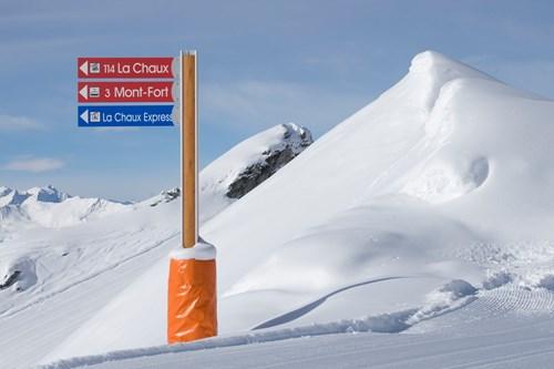 Four Valleys, Switzerland's largest ski area