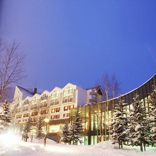 Rusutsu Resort Hotel - Japan skiing - hotel wing exterior