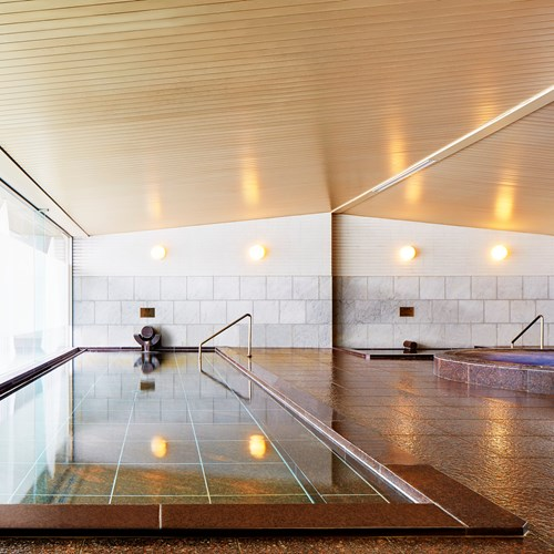 Westin ski hotel, Rusutsu ski resort - Japan - indoor onsen