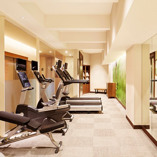 Westin ski hotel, Rusutsu ski resort - Japan - gym room