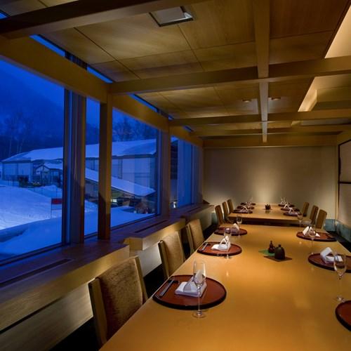 Ski Hotel Hilton Niseko Village - Japan skiing - sisam restaurant