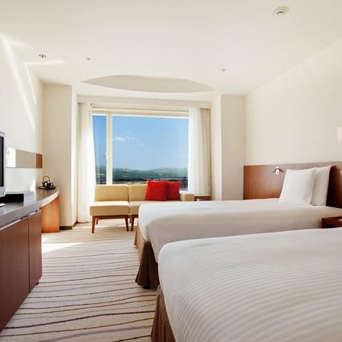 Ski Hotel Hilton Niseko Village - Japan skiing - deluxe twin room