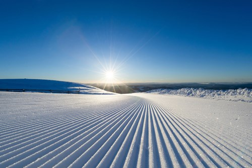 Trysil ski Holidays-Norway-corduroy slopes
