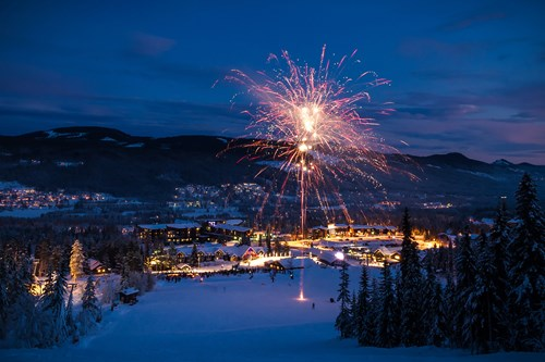 trysil new years eve fireworks