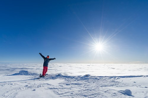 Trysil above the clouds