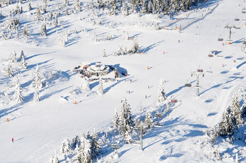 Trysil mountain hut