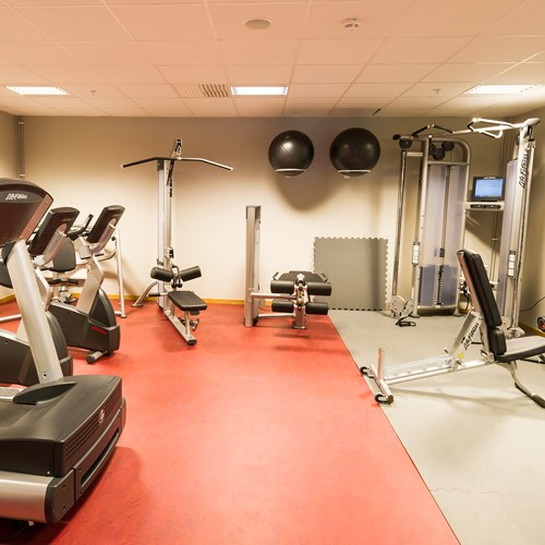 fitness room gym at the Radisson Blu Mountain Resort Trysil