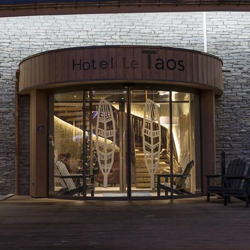 Hotel Le Taos Tignes-entrance