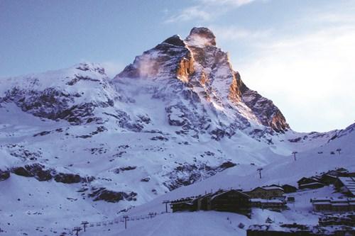 Matterhorn Glacier Paradise, large ski area
