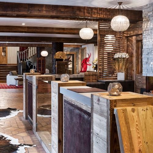 Hotel Village Montana-Tignes-reception lobby