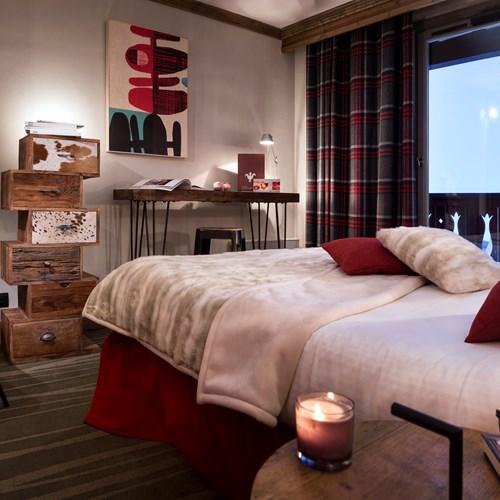Hotel Village Montana-Tignes-single room