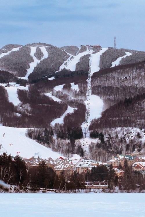 Tremblant ski runs Canada