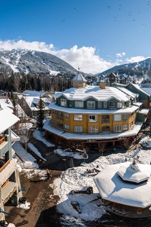 Winter Village by Robin O'Neil - Whistler, Canada