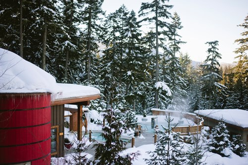 Whistler-Scandinave-Spa-snowy
