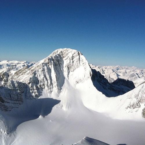 late season skiing in Banff