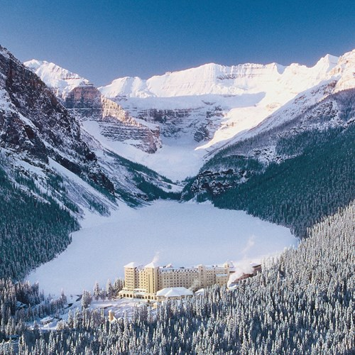 Lake Louise beginner skiing