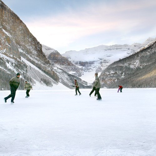 Fairmont Chateau Lake Louise Ice Skating Rink