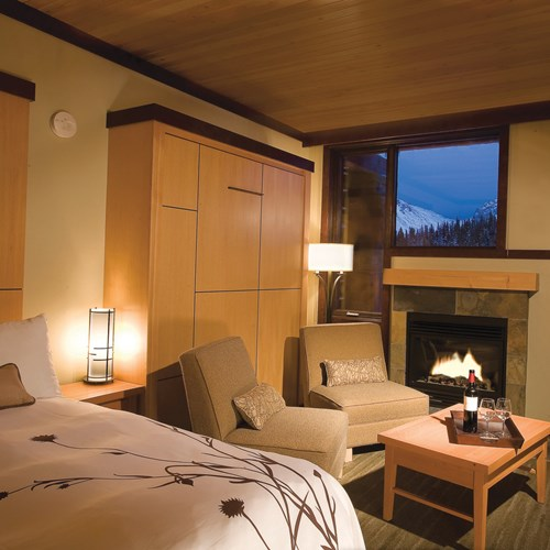 Sunshine Mountain Lodge - premiere double room - accommodation in Canada