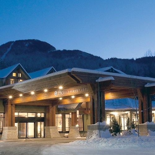 Aava Whistler Hotel, ski accommodation in Whistler, Canada. Exterior view