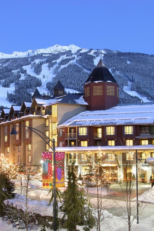Delta Whistler Village Suites, ski accommodation in Canada - exterior view