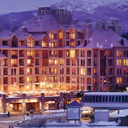 Pan Pacific Whistler Mountainside, ski accommodation in Canada - exterior
