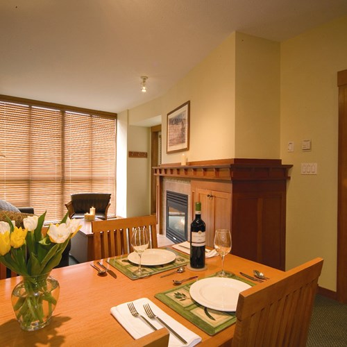 Pan Pacific Whistler Mountainside, ski accommodation, Canada - 1 bed suite