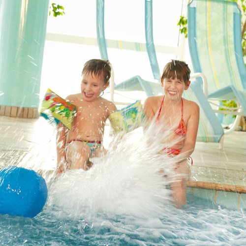 Grand Hotel , ski accommodation in Zell-am-See, Austria - indoor kids pool