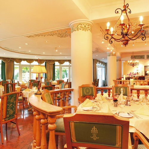 Grand Hotel , ski accommodation in Zell-am-See, Austria - hotel restaurant
