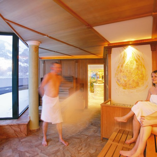 Grand Hotel , ski accommodation in Zell-am-See, Austria - sauna in the spa