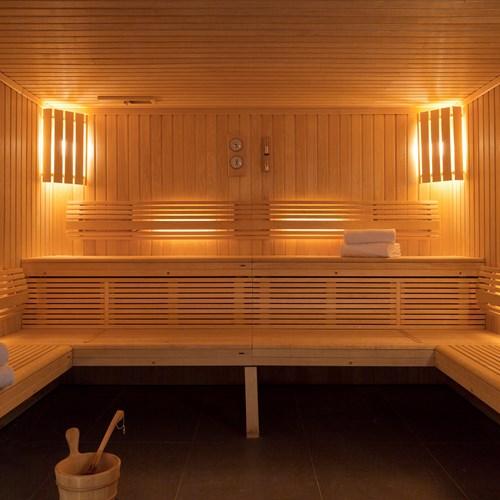 Hotel Heliopic-Chamonix ski resort-sauna