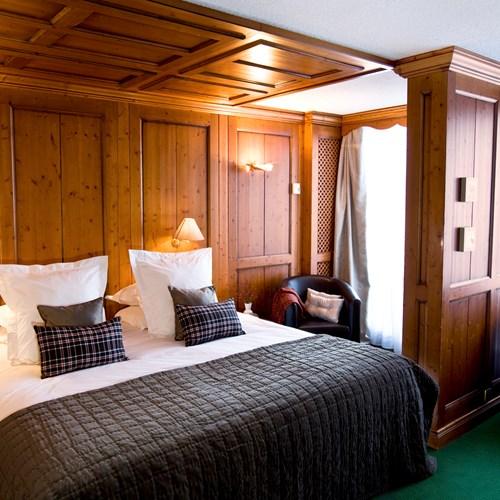 Royal room at Hotel Royal Rochebrune Megeve, Ski hotel France